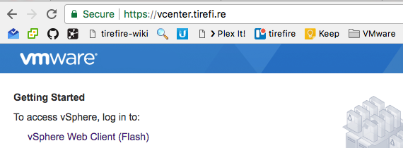 vCenter (VCSA) and using Let's Encrypt for SSL Certificates